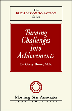 Turning Challenges Into Achievements Booklet, From Vision to Action Booklet series